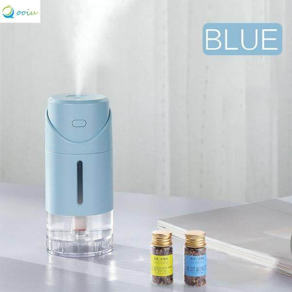 Qooiu Portable Car Humidifier Scientific Air Purifier 282ml Large Capacity Water Sprayer Silent Aroma Diffuser