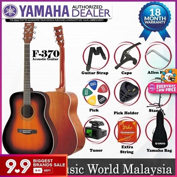 Yamaha F370 Tobacco Brown Sunburst Full Size Acoustic Guitar (F-370 / F 370) Malaysia