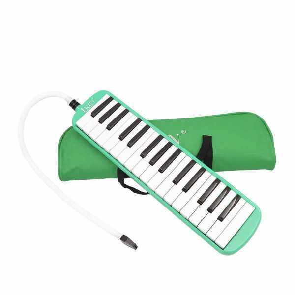 32 Piano Keys Melodica Musical Instrument for Music Lovers Beginners Gift with Carrying Bag (Green) Malaysia