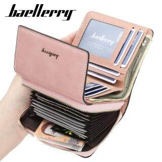 Baellerry N1668 Mới Trifold Ví Nữ Ngắn Tiền Xu Sáng Tạo Ví Túi Xách Nhiều Chủ Thẻ Tín Dụng thumbnail