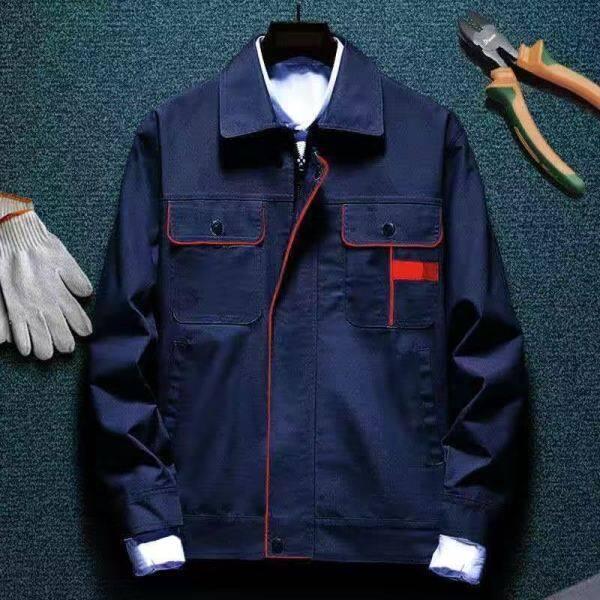 Long-sleeved clothes suit men and women winter wear custom motor repair labor insurance clothing factory workshop maintenance ChangFu coat
