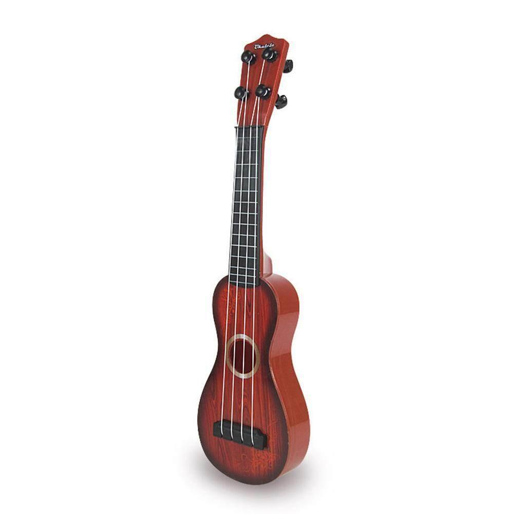 Buyinbulk Mini Guitar Toy, Ukulele 4 Strings Simulation Mini Guitar Children Educational Musical Instrument Toy Gift For Over 3 Years Old Kids,1 Pcs By Buyinbulk.