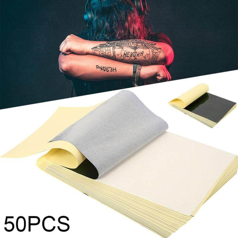 Buy ILADA 50Pcs Carbon Thermal Tracing Hectograph Tattoo Transfer Paper Stencil Singapore