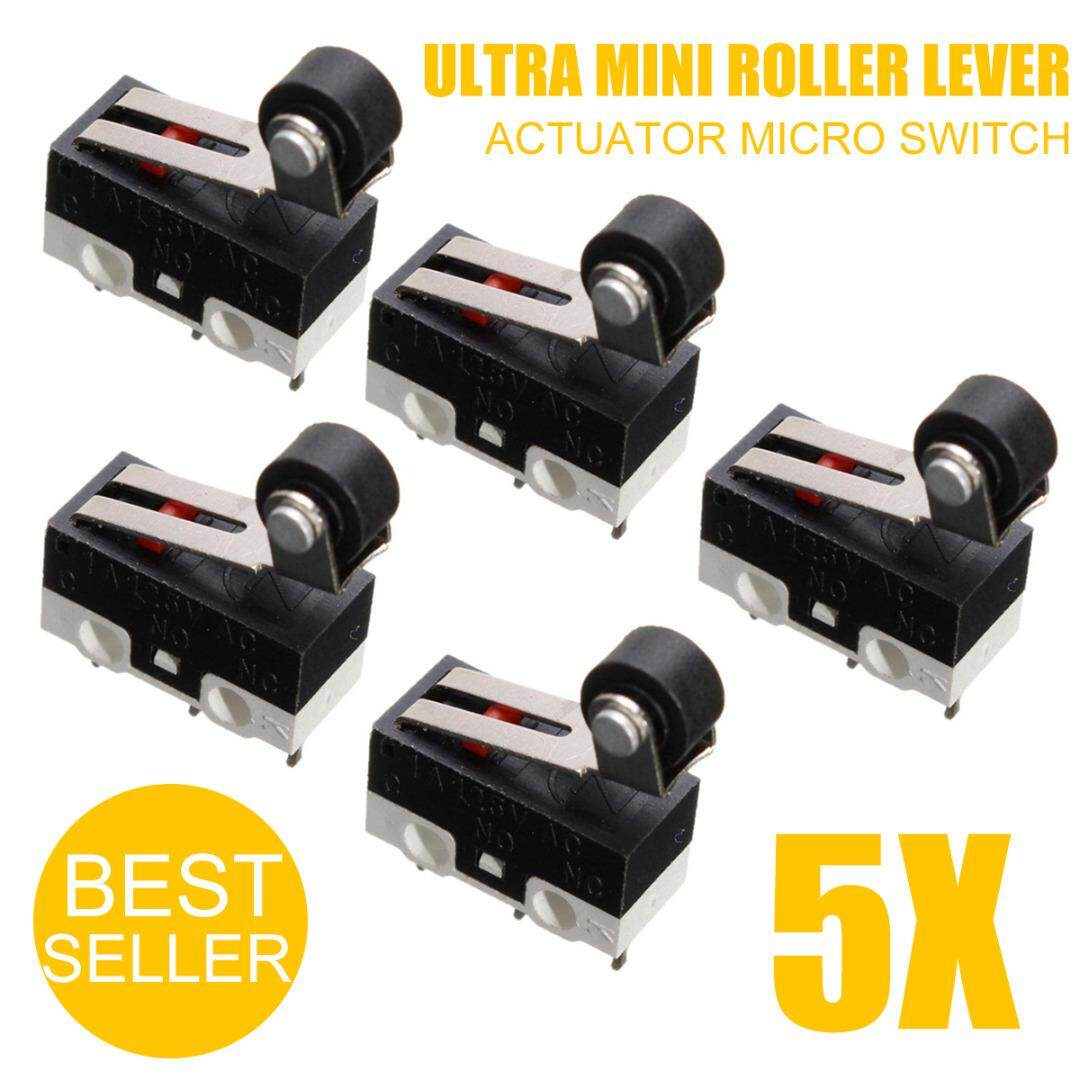 5x Ultra Mini Micro Switch Roller Lever Actuator Microswitch SPDT Sub Switch CH