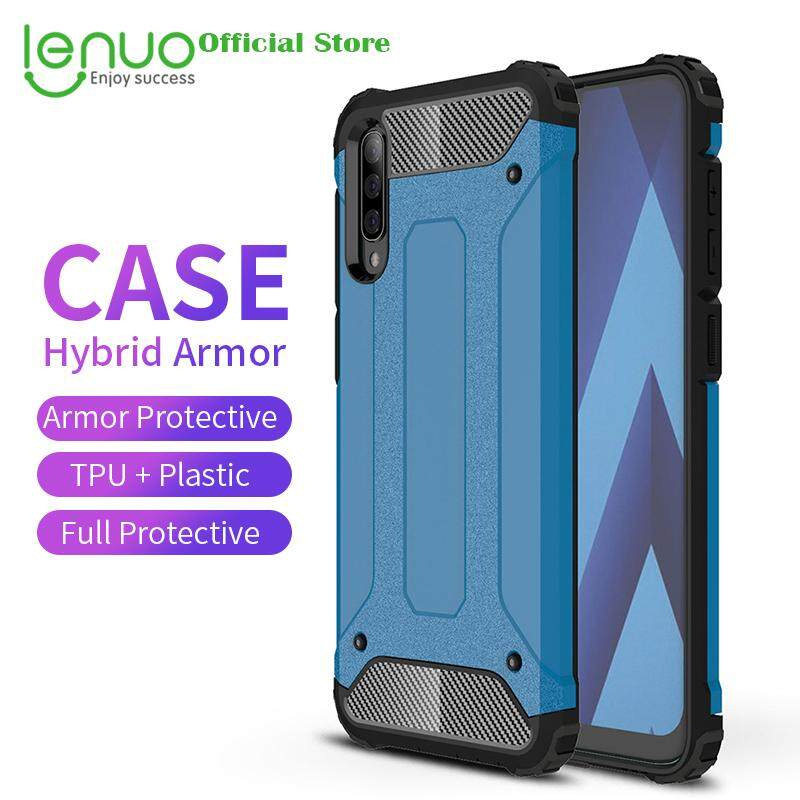 ac67f51a64a17f Lenuo Case for Samsung Galaxy A50 Hybrid Shell Armor Cases Rugged TPU + Hard  Plastic Cover