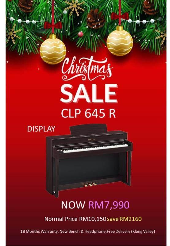 YAMAHA CLP 645 Rosewood Acoustic Piano Malaysia