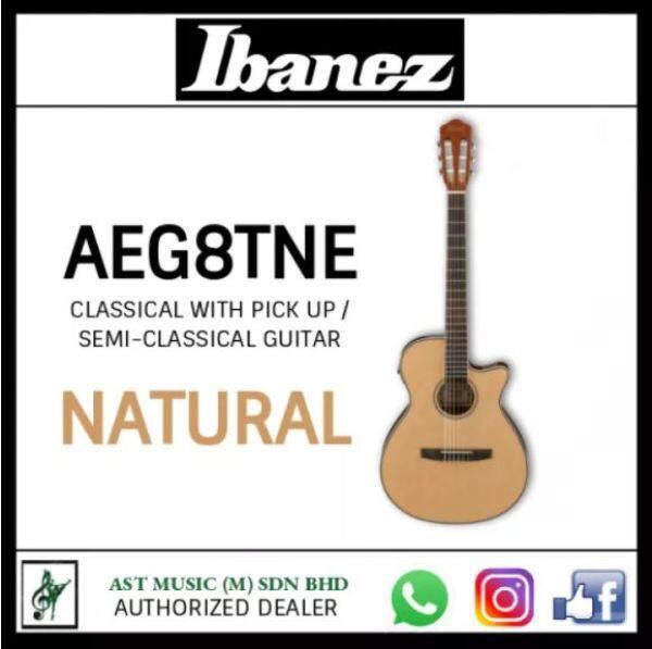 Ibanez AEG8TNE Classical Electric Guitar / Semi Classical Guitar / Classical with Pickup Malaysia