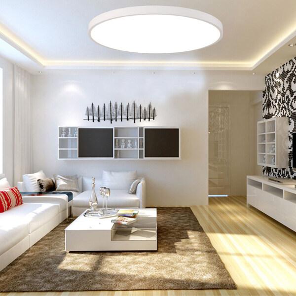 Ultra-thin Mordern 16W White Round Light LED Lamp LED Ceiling Light Atmosphere 26CM For Living Room Bed Room Kitchen