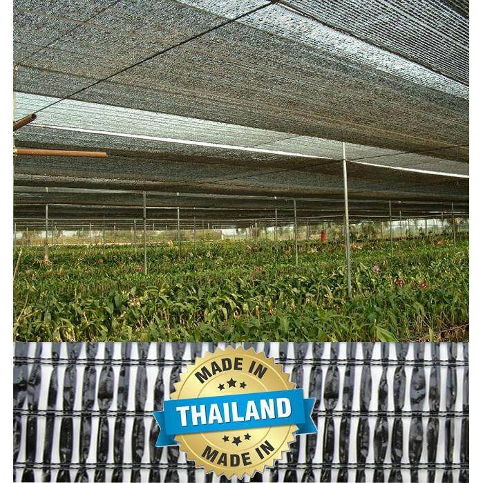 HDPE 30m Sun Shade, Shading Orchid Net 2m X 30m / Jaring Hitam (Made In Thailand)