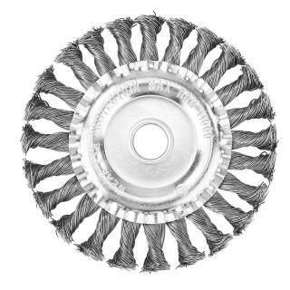 Máy Cắt Cỏ Đầu Tông Đơ Đầu Xoắn Nút Bàn Chải Dây Thép Bánh Xe Bàn Chải Đĩa thumbnail