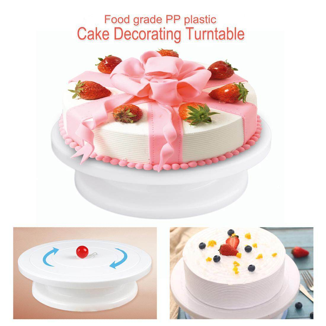 Cake Decoration Turntable Practical Table Rotating Disc Non-Slip Baking Tool