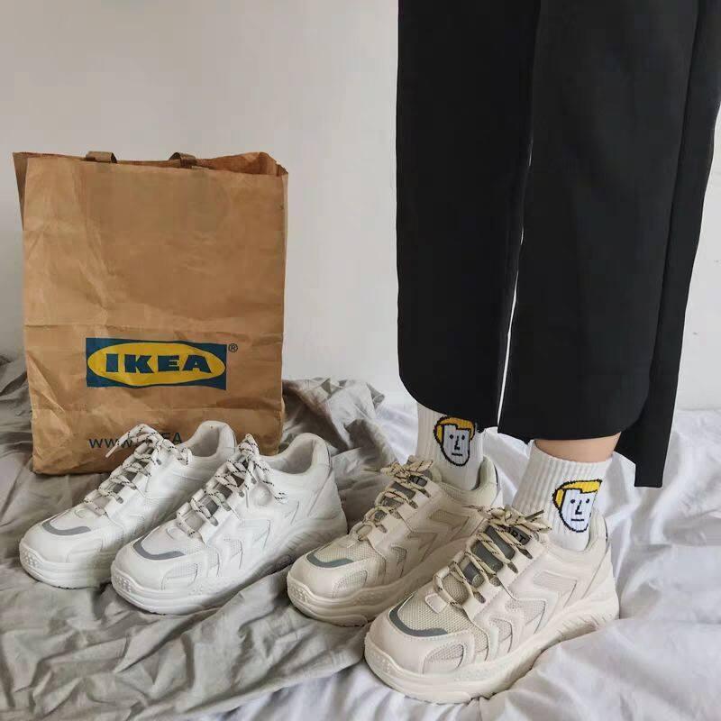 Vestline Ins Triều Sneakers Nữ In Hình Phẳng Cho Nữ Giải Trí Giày Trắng Cho Nữ Kasut Wanita 2019 Mới Giá Rẻ Nhất Thị Trường