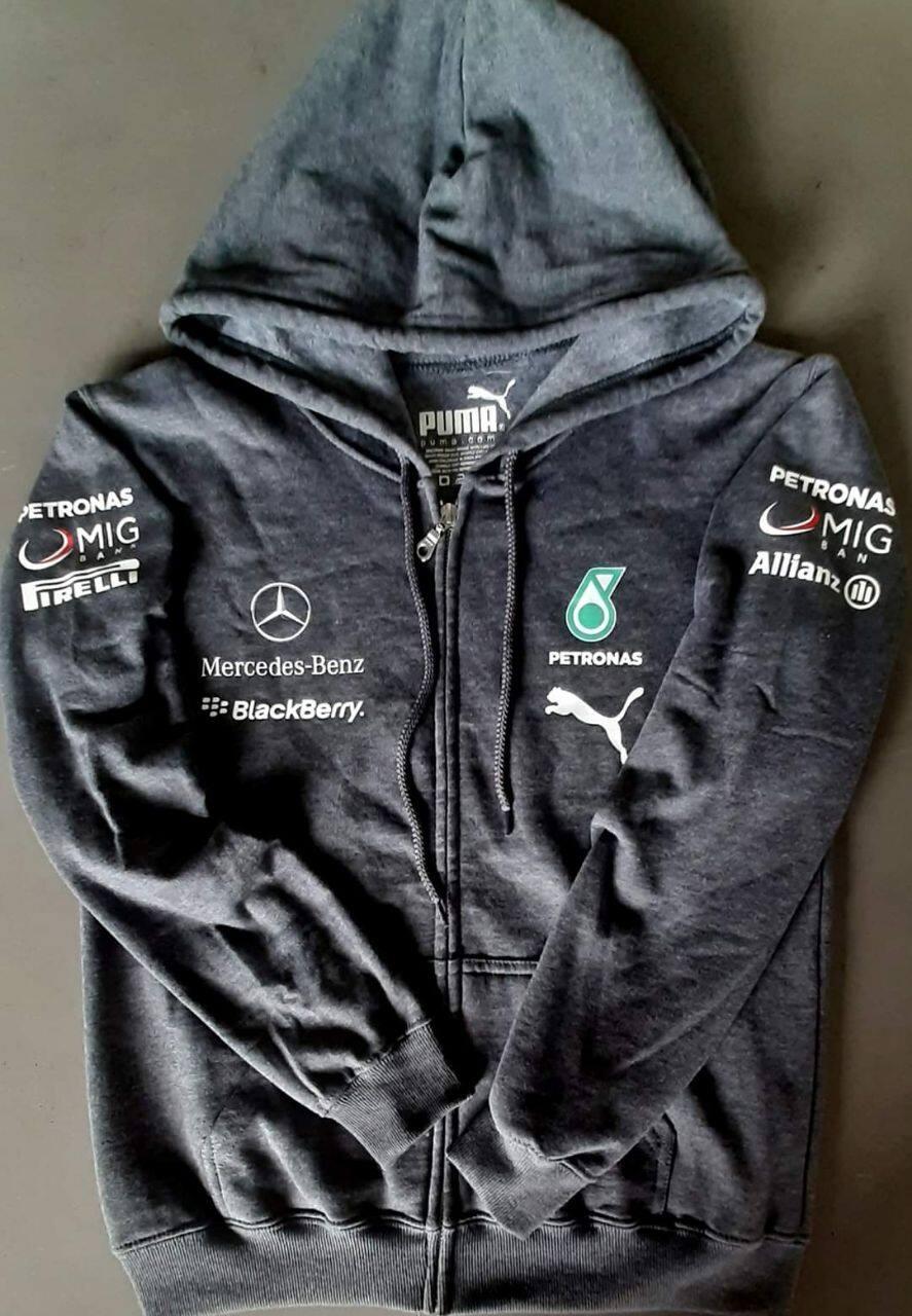Mercedes-AMG Petronas Motorsport F1 Zip Hoodie Black