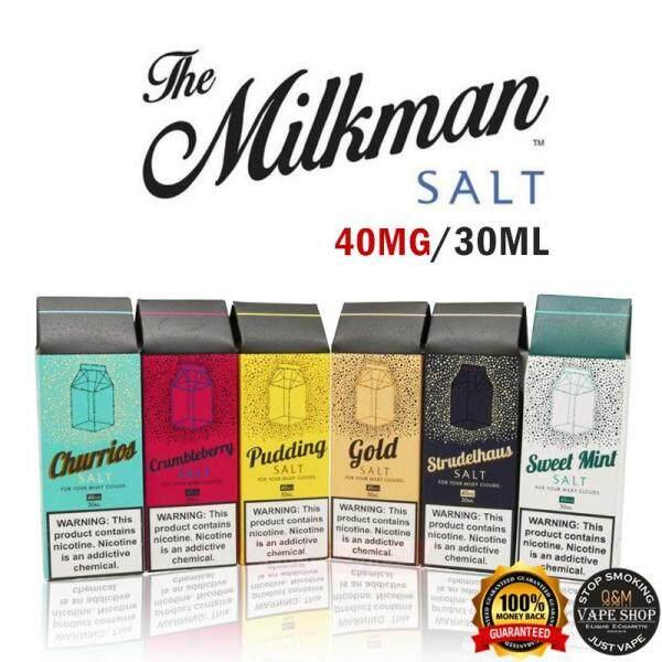 MILKMAN Salt/E Liquid/Vape Juice/Vape Flavor/Vape Liquid 30ML/40MG Malaysia