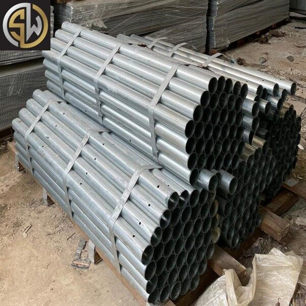 PVC ZINK POLE/POST FOR FENCE