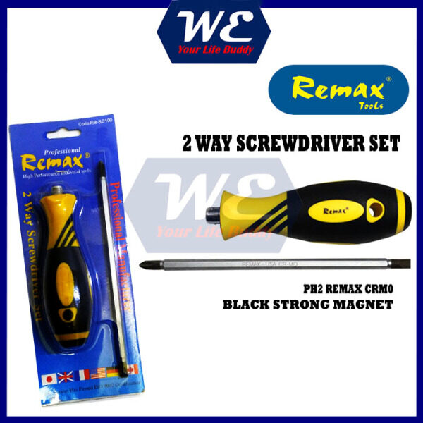 REMAX 2 WAY SD100 SCREW DRIVER (Magnet) HEAVY DUTY