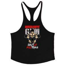 Xiziy Men Muscle Bodybuilding Shirt Tops Fitness Sport GYM Vest Fashion Accs