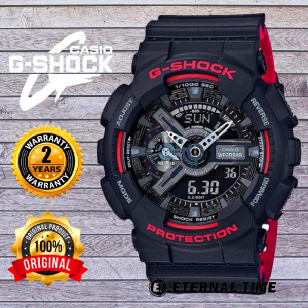 (2 YEARS WARRANTY) ORIGINAL G-SHOCK GA-110HR-1A SPECIAL COLOR MENS WATCH  (G SHOCK / GSHOCK / WATCH FOR MAN / JAM TANGAN LELAKI / MAN WATCH / WATCH FOR MEN / CASIO WATCH FOR MEN / CASIO WATCH) Malaysia