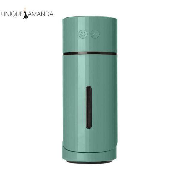 Mini Air Humidifier Aroma Essential Oil Diffuser Aromatherapy Mist Maker Timed Purifier for Office Singapore