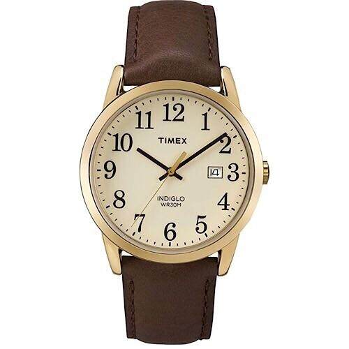 Timex Easy Reader Leather Strap Watch ,38mm - TW2P75800 Malaysia