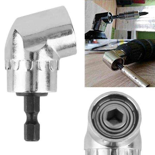 Screwdriver Attachment Adapter With 1/4-inch Quick-Magnetic Bit Holde 105 Degree -