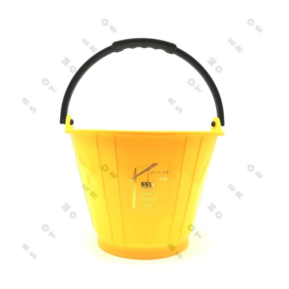 PVC Cement Pail Yellow Heavy Duty