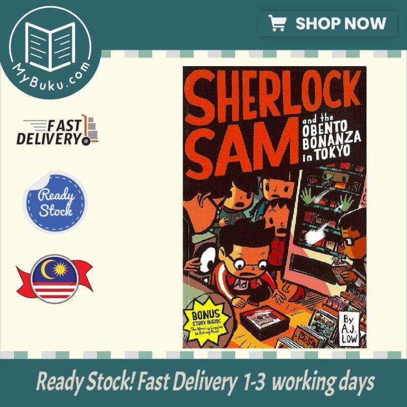 ( MyBuku.com )  Sherlock Sam and the Obento Bonanza in Tokyo #9 -  A . J . Low - 9789814615846 - EPIGRAM Malaysia