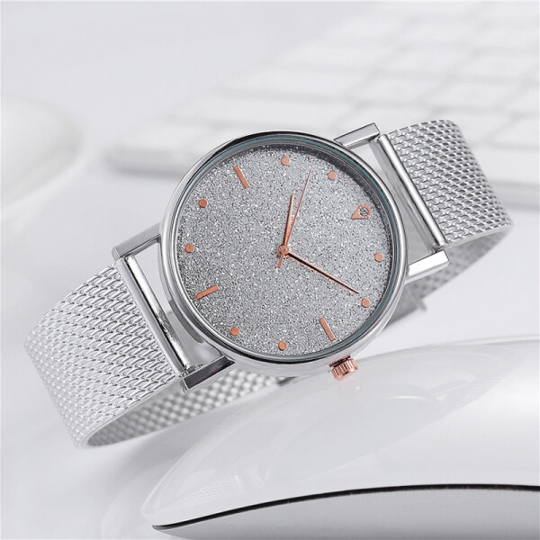 SAWU Watch Women Stainless Steel Band Analog Quartz Wristwatch Fashion Luxury Ladies Watch Clock Malaysia