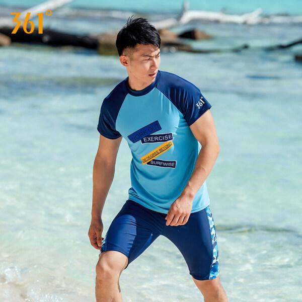 Nơi bán Trang Phục Bơi 361 Độ Nam TOP Sứa Phù Hợp Với Áo Quần Lặn Quần Đùi Ngắn Tay Bảo Vệ Khỏi Ánh Mặt Trời Khô Nhanh Chuyên Nghiệp Lướt Sóng