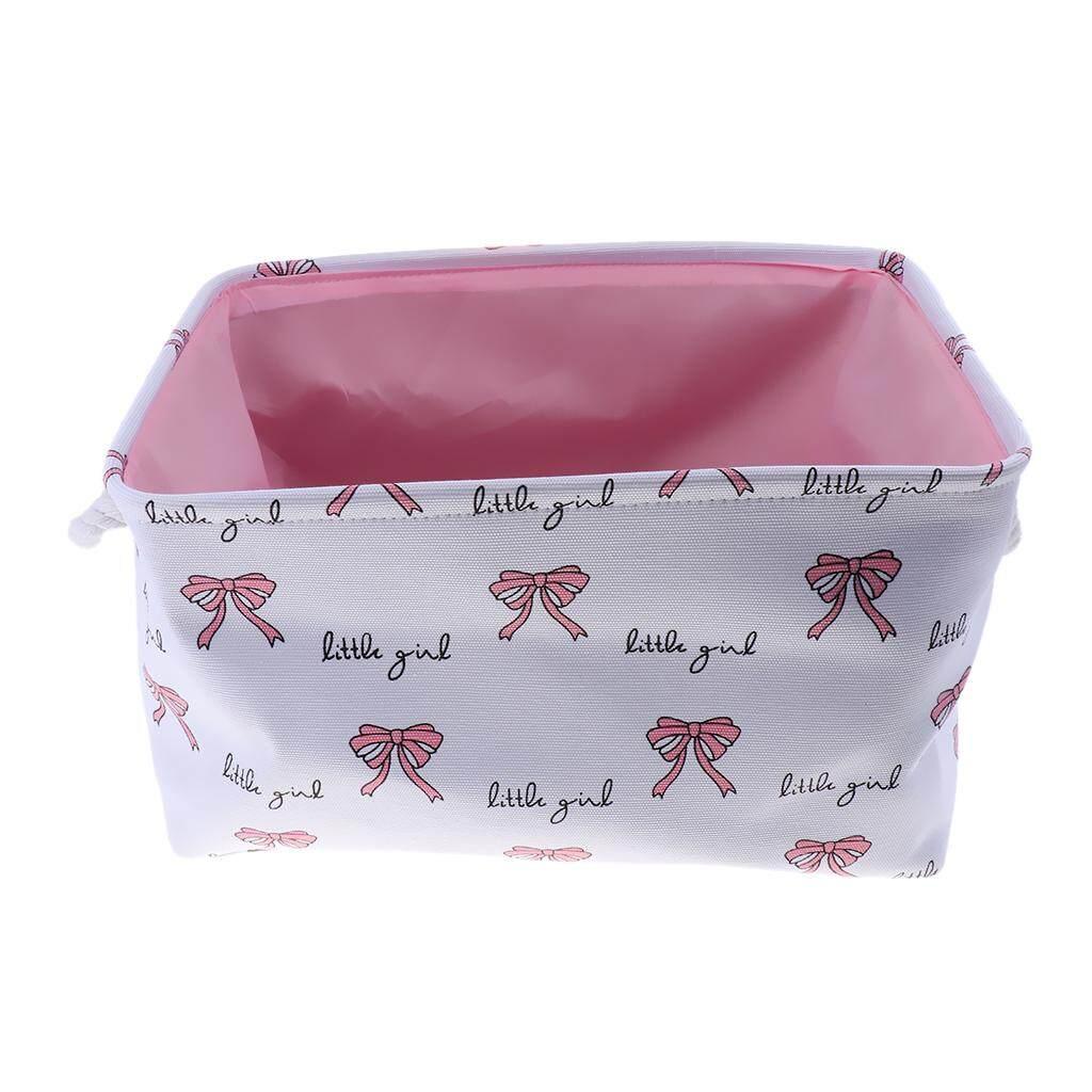 Fityle Canvas Storage Basket Bins Home Decor Organizers Storage Box Container Bag
