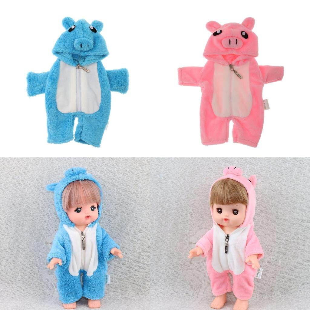 Magideal Handmade Jumpsuit For 25cm Mellchan Baby Dolls Dress Up Accessory Gift By Magideal.