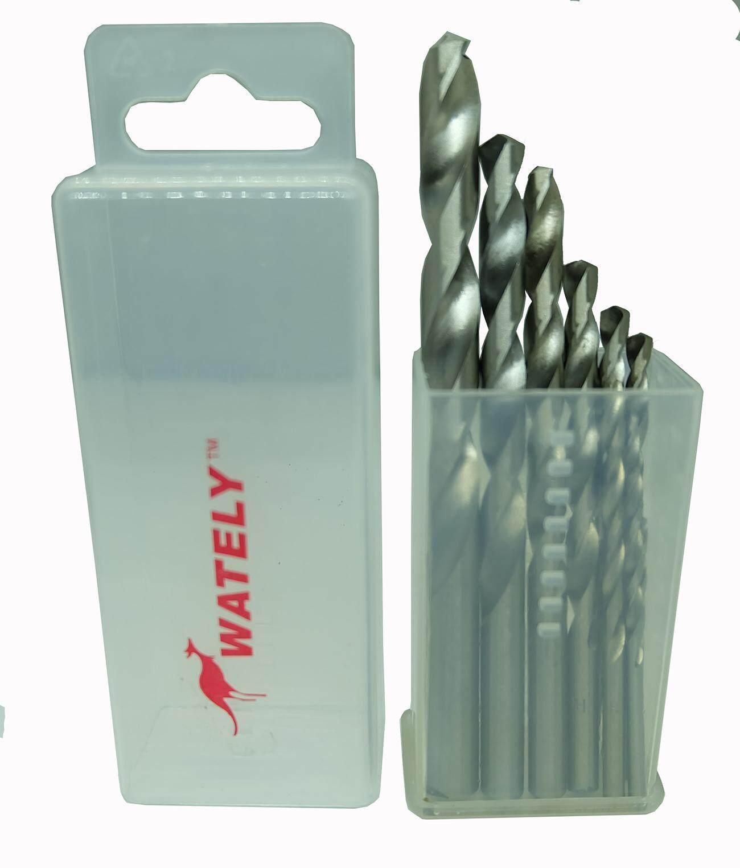 Wately HSS Drill Bit Set (2~10mm) 10pcs Metric Set