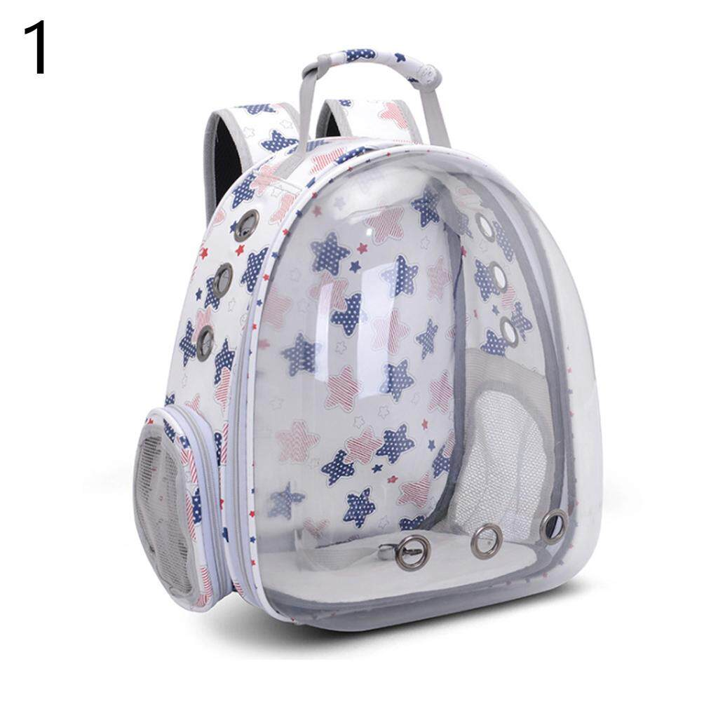 fe2efb08d6 Breathable Small Bag Pet Carrier Portable Outdoor Pet Travel Backpack Dog  Cat Space Transparent Carrying Cage