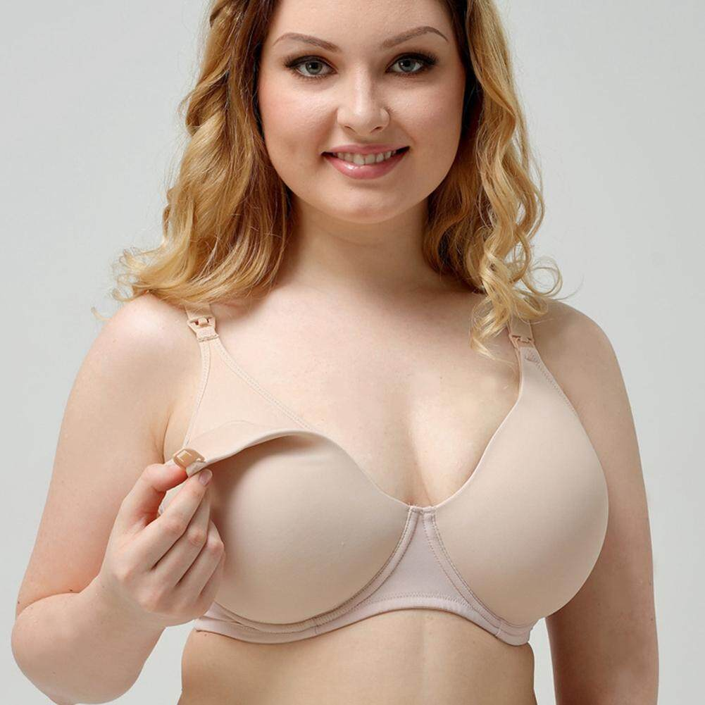 d6b7cd664e  Lowest Price Across Lazada Pregnant Women Nursing Maternity Wired Bra  Breastfeeding Front Opening Pads