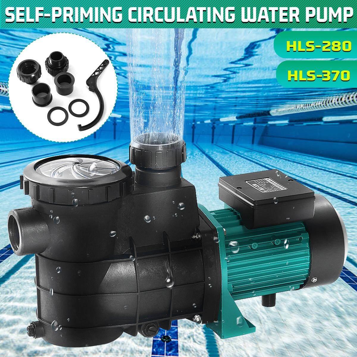 220V Plastic Swimming Pool Filter Pump Booster Self-priming Circulating Water
