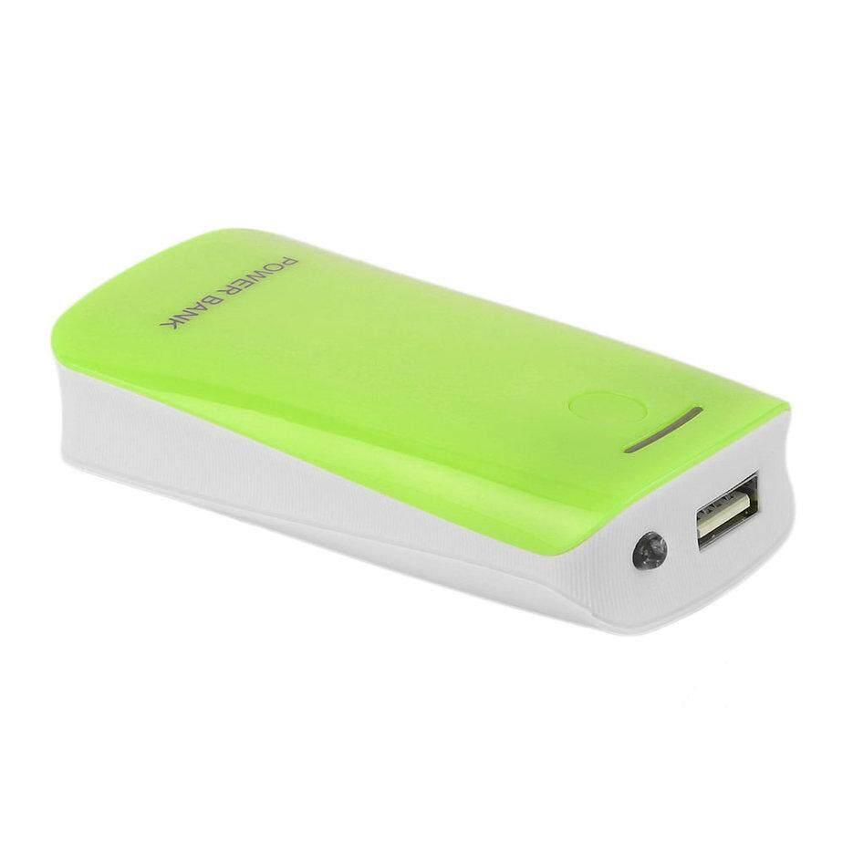 Hot Bán Chạy Nhất năm 5600 mAh Sạc USB Di Động Gắn Ngoài Dự Phòng 2*18650 Batt * ery Power Bank Case