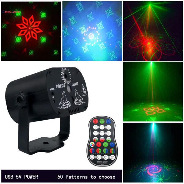60 Hoa Văn Mini Đèn Sân Khấu Laser LED Hoa Văn Chiếu Đèn Cho Sinh Nhật Tiệc Cưới Thanh KTV Cô Đơn