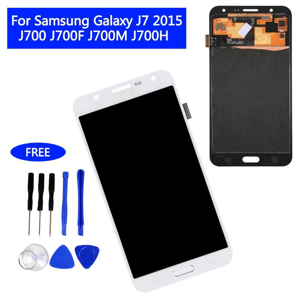 LCD Display Touch Screen Digitizer for Samsung Galaxy J7 2015 J700 J700F  J700M J700H Universal Assembly e6c335a670