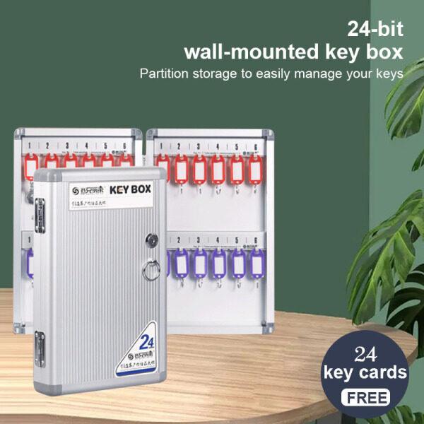 [READY STOCK] CHOCOO Outdoor Wall Mounted Key Safe Box Key Storage Box Key Box/Order now and get a 24-bit key tag