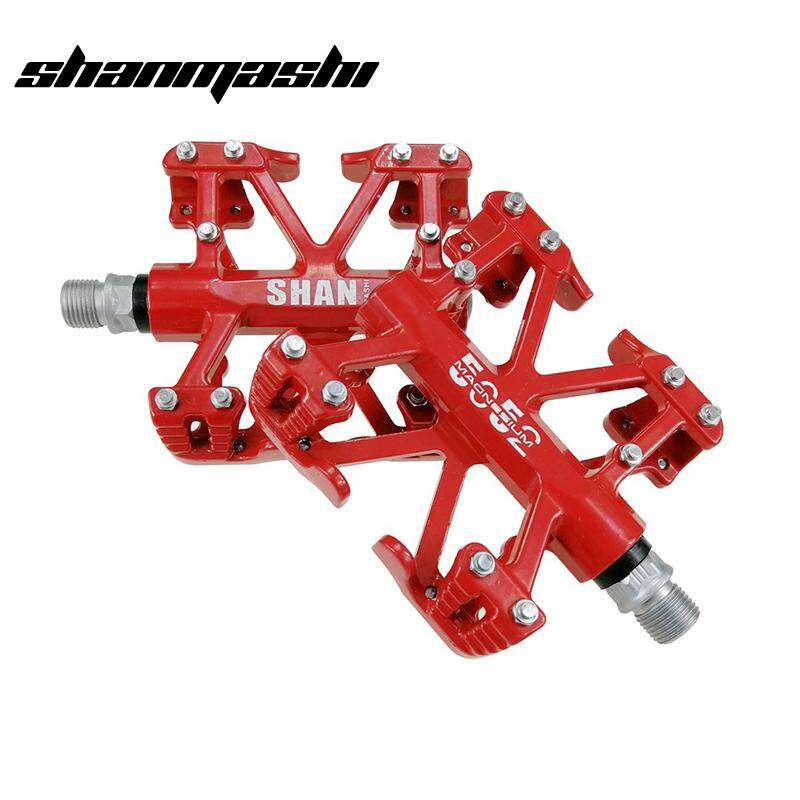 magnesium aluminum Road MTB Bike Bearing Cycling Pedals Flat Bicycle Pedal White