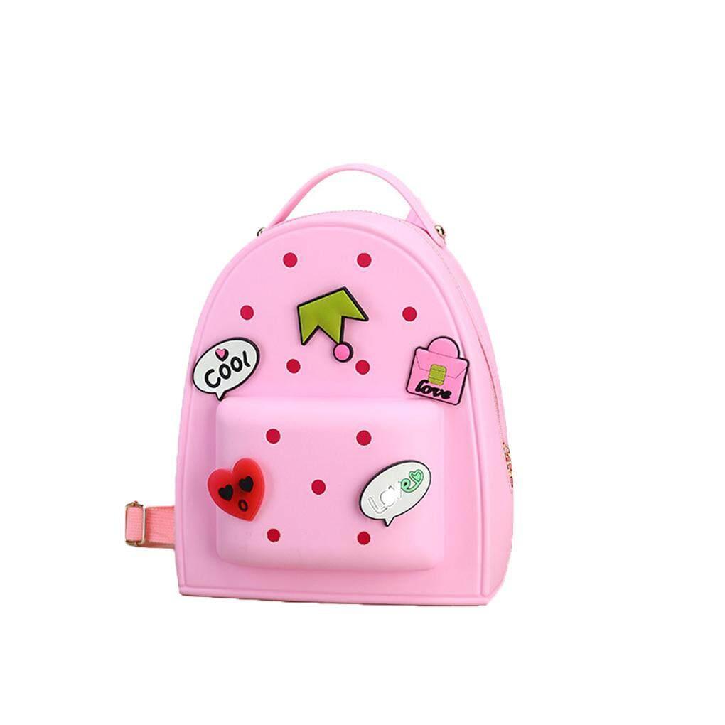 Sweet Baby Girls School Bags Candy Color Cartoon Children Backpacks Lovely Kids Satchel Kindergarten Rucksack