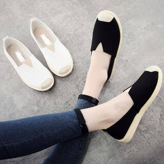 Dép Hở Gót Phong Cách Hàn Quốc Cô Gái Trượt Sandal Phẳng Giày, Phụ Nữ Giày Vải Sneakers Đối Với Phụ Nữ Thanh Thiếu Niên Thời Trang Dép Đi Trong Nhà, Mới Đến Năm 032416 thumbnail
