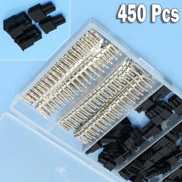 50 Cái Chốt 5557 8P (6 + 2) Đầu Nối ATX EPS PCI-E, Với Phích Cắm Uốn Đầu Cuối 400