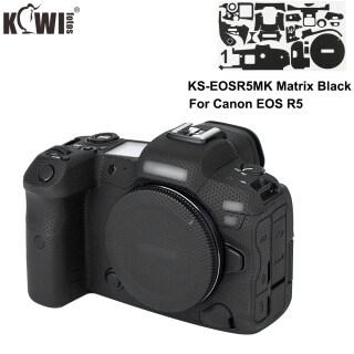 Kiwi Ma Trận Màu Đen Máy Ảnh Cơ Thể 3M Keo Chống Xước Da Phim Đối Với Canon EOS R5 Máy Ảnh Bóng Đen trang Trí Sticker Phim Bìa Bảo Vệ Cho Canon R5 Máy Ảnh Cơ Thể Sợi Carbon Màu Đen thumbnail