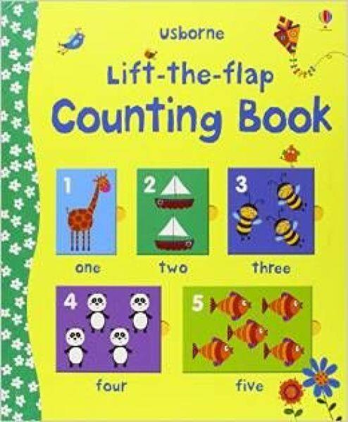 Usborne original English Lift-The-Flap Counting Book digital Counting Book 0-3 years old childrens↓