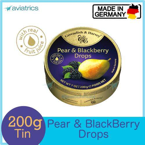 Cavendish Harvey Pearl & Blackberry 200g (Made in Germany)
