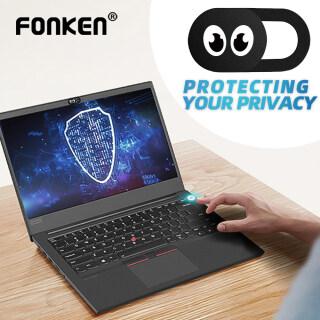 FONKEN Phổ Webcam Bìa Điện Thoại Ống Kính Chống Máy Ảnh Bìa Cho iPad Macbook Web Máy Tính Xách Tay PC Tablet Sự Riêng Tư Sticker thumbnail