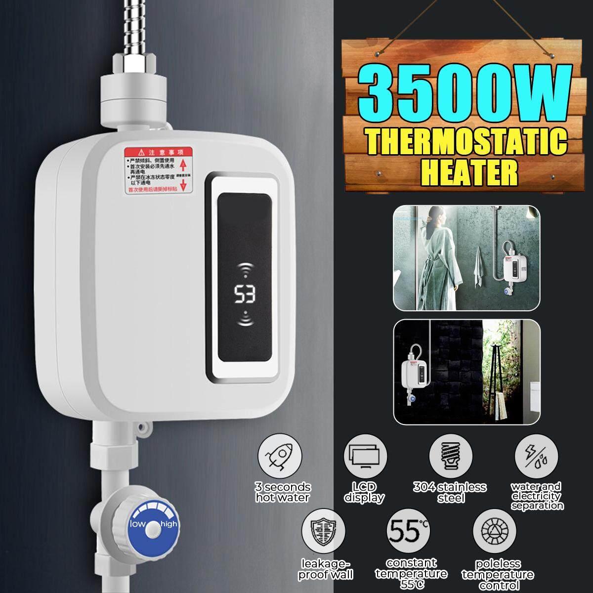 220V 3500W Nước Uống HeaterTthermostatic Chống Rò Rỉ Nhiệt Bơm Nước