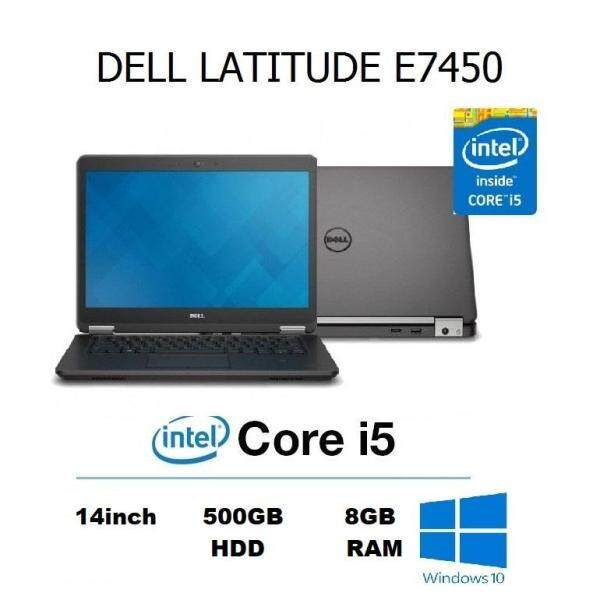 Dell Latitude E7450 Ultrabook Laptop (Intel Core i5-5th Gen / 8GB RAM / 500GB HDD / 14.0 inch HD) Malaysia