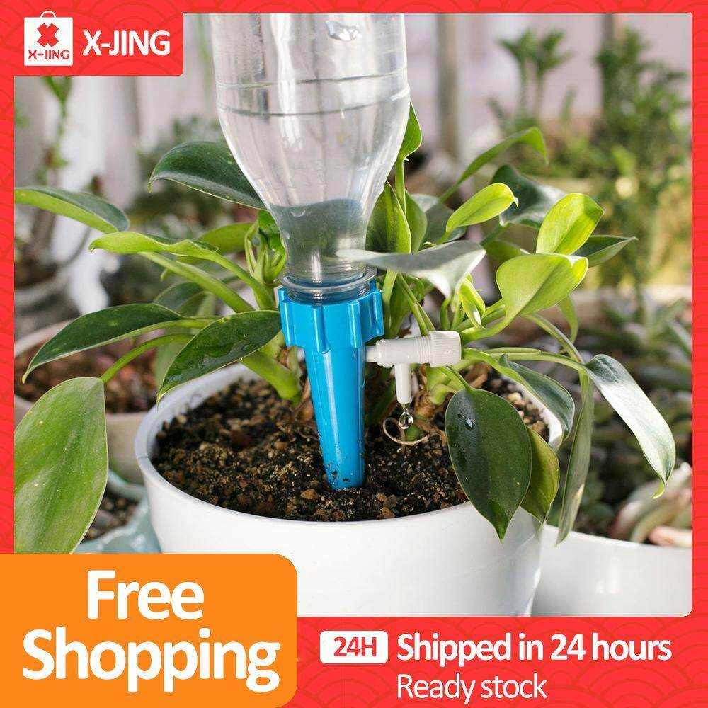 XJING- Drip irrigation system Plant Waterers DIY Automatic drip water spikes taper watering plants automatic houseplant watering 1pcs